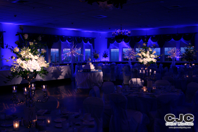 South&ton Room at The Log Cabin & uplighting | Event Lighting Blog azcodes.com